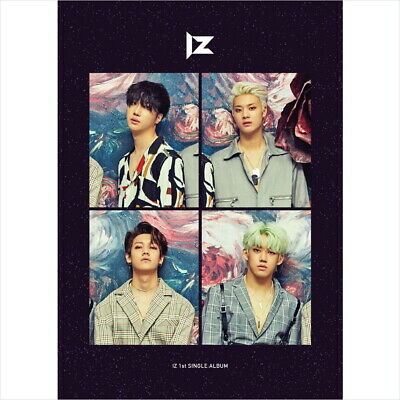 IZ - Re:IZ (1st Single Album) CD+ Photobook +Photocard+ Posters Sealed NEW