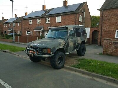 Land Rover Discovery Classic off road