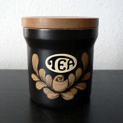 Denby Pottery - Bakewell - Tea Storage Jar Medium 'Md' Size Excellent Condition