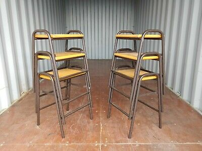 Fabulous Vintage Stacking School Lab Stools 25 Available 14 50 Beatyapartments Chair Design Images Beatyapartmentscom
