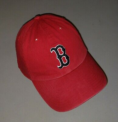 5e816eb211da2d Boston Red Sox Hat Baseball Cap Fitted Medium Twins Enterprise Franchise Fit  Red