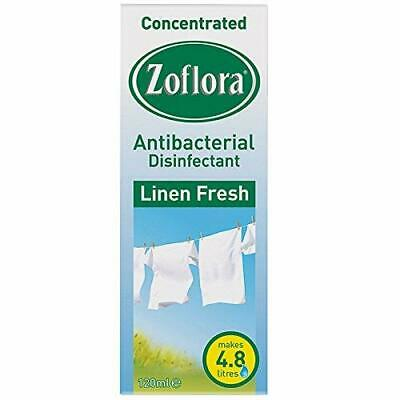 Zoflora Linen Antibacterial Disinfectant 120ml - Free Shipping