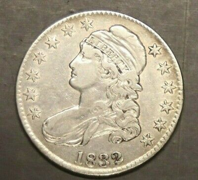 1832 Capped Bust Half Dollar - Extra Fine -  #6954