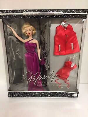 Marilyn Monroe Barbie, How To Marry A Millionaire 2001. New In Box