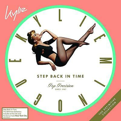 Kylie Minogue - Step Back In Time - New 2CD Album - Released 28/06/2019