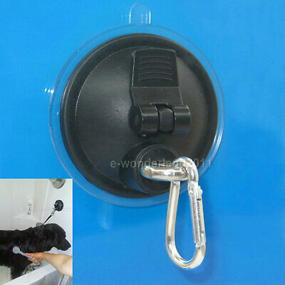 PET DOG CAT Grooming Tub Bath BATHTUB SUCTION CUP RESTRAINT Eyebolt Hook