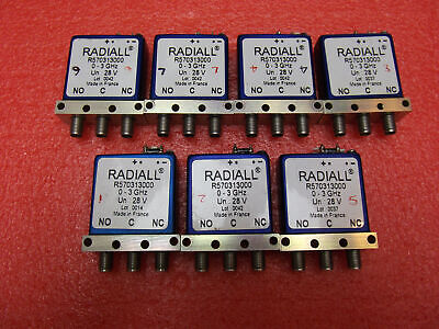 Radiall R570313000 SMA RF coaxial switch-3GHz 28V