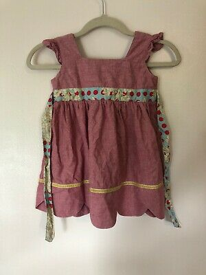 Youth Girls Serendipity Matilda Jane Fall 2011 Love Me Sleeveless Dress - Size 4