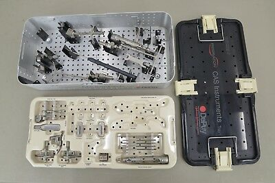 BrainLab DePuy VectorVision Surgical Instrument Set Orthopedic (14827 B33)
