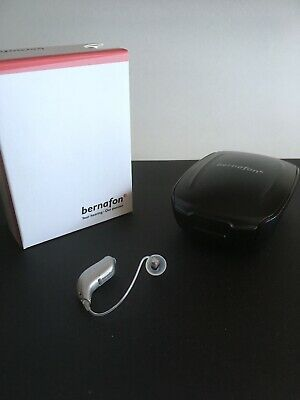 Bernafon ZERENA 5 MiniRite - Hearing Aid - iPhone iPod iPad Compatible - MINT