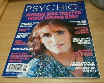 Psychic News magazine JUN 2019 TRapped in Wrong Body, History of Tarot, Apports