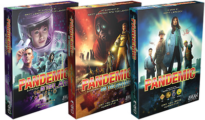 Pandemic - Main Game/Expansions/Variants - Multi-Listing - New & Sealed