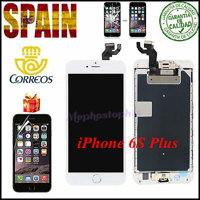 Pantalla Completa iPhone 6S Plus LCD Retina Blanco Display Tactil + BOTÓN