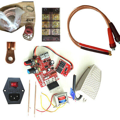 100/40A Spot Welder Whole DIY kit Assembly Welding Machine NY-D01 Controller Pin