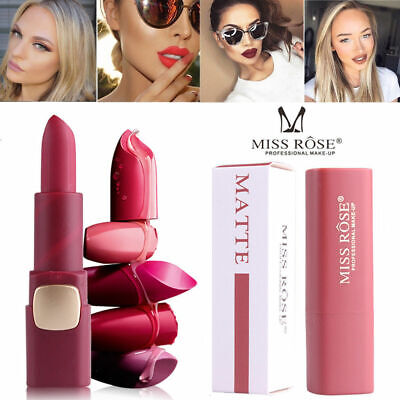 MISS ROSE Waterproof Long Lasting Matte Liquid Lipstick Lip Gloss Makeup