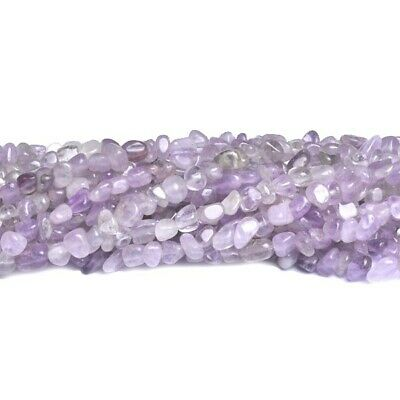 Cape Amethyst Smooth Nugget Beads 3-5mm Lilac 85+ Pcs Gemstones Jewellery Making