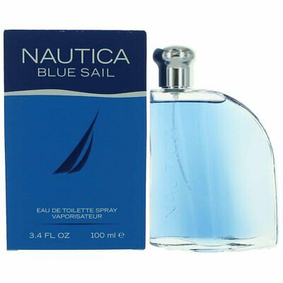Nautica Blue Sail Cologne for Men 3.4 oz EDT Spray New in Box
