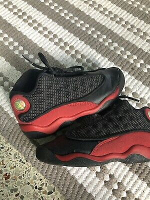 outlet store 247f1 a17ec NEW* BABY Toddler Jordan Black Red 313635-002 sz 1C - $49.00 ...