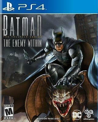 Batman : The Enemy Within PS4 (Sony PlayStation 4, 2017) Brand New - Region Free