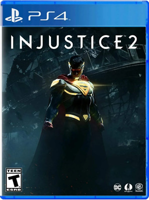 Injustice 2 PS4 (Sony PlayStation 4, 2017) - Brand New - Region Free