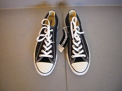 ORIGINAL CONVERSE ALL STAR CHUCKS Sneakers Schwarz Gr. 41,5 UK 8 NEU