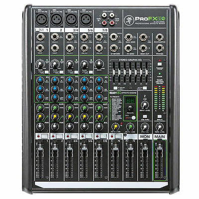 Mackie ProFX8v2 8-Channel Professional FX Mixer with USB -