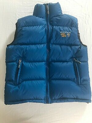 f609b8a6906 Mountain Hardware Men's Small 900 Fill Super Down Vest With Gore Dry Loft  Shell