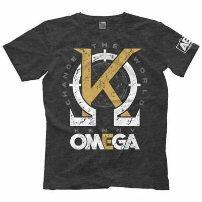 9640 T-Shirt Kenny Omega Golden K Offiziell Bis 5XL ! Young Bucks AEW