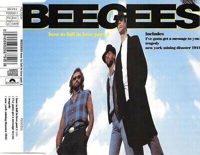 BEE GEES How To Fall in Love Part 1 CD