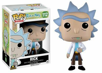Rick and Morty #112 - Rick -  Funko Pop! Animation - Brand New