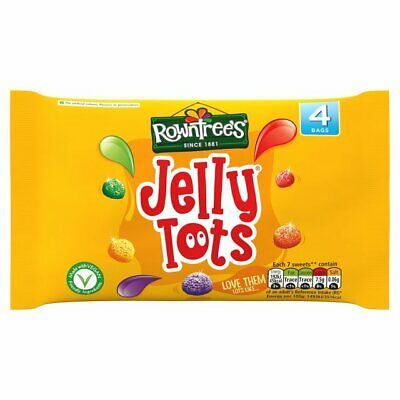 Rowntree's Jelly Tots Multipack 4 x 28g
