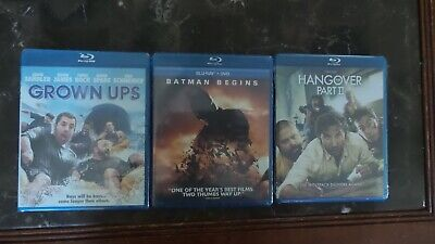 Assorted Bluray Movies Collection Centurion 148 Blu-rays