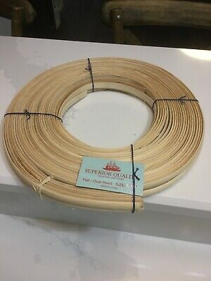 "Superior Quality Flat/Oval Reed 1/2"" 1-Pound Coil Basketmaking Supplies Basket"