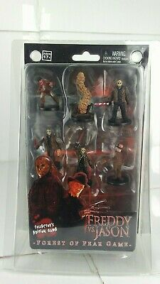 New Neca Collector's Edition Game Freddy Vs. Jason Forest Of Fear Game