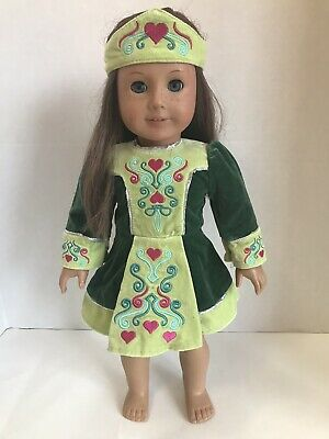 American Girl Doll Nellie Retired IRISH Dance Outfit of Today SHOES ONLY