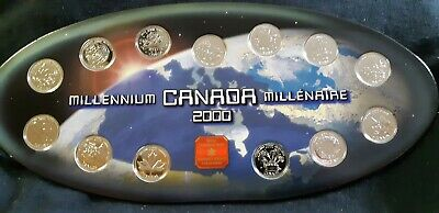 2000 Mint Millennium Canada Coin Set