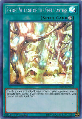 Secret Village of the Spellcasters - INCH-EN043 - Super Rare 1st - YGOMARKET.COM