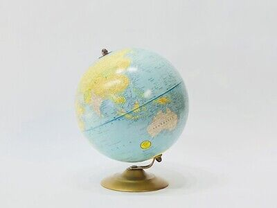 Vintage Cram's Universal Terrestrial Globe 9in. Made by George F. Cram Co