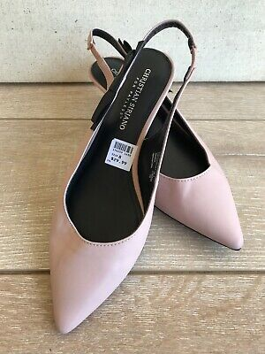 6b4174caaf Christian Siriano For Payless Women's Sling Back Shoe 8 Pale pink Pointy Toe  New