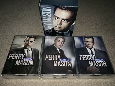Perry Mason: The Complete Series DVD Boxed Set Full Frame Slipsleeve OPEN BOX