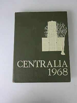 1969 Bay City Central High School Yearbook, Centralia, Michigan, Football Champs