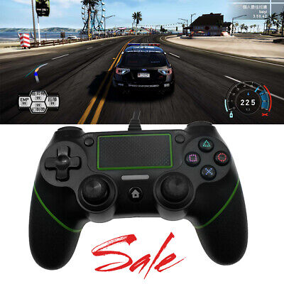 USB Wired Game Controller Gamepad Multiple Vibrations for PS4 PlayStation 4 Fast