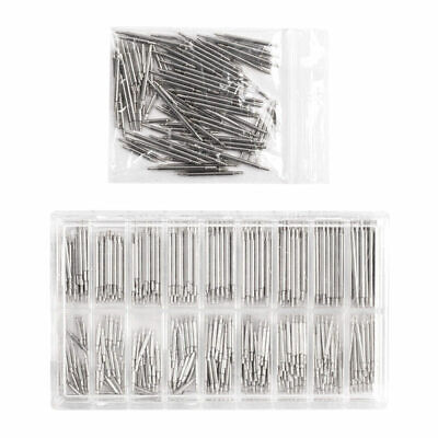 108pcs Stainless Steel Watch Band Spring Bars Strap Link Pins 8-25mm Repa rty