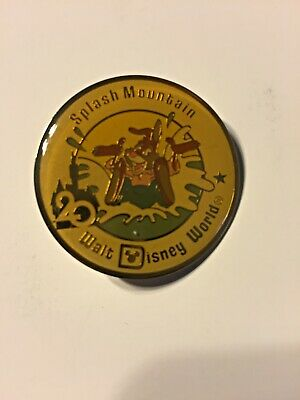 Walt Disney World Trading Pin WDW 20th Anniversary Splash Mountain Brer Rabbit