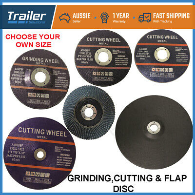 "125mm 5"" CUTTING DISC WHEEL ANGLE GRINDER THIN CUT OFF METAL 1mm 2.5mm 6.8mm"