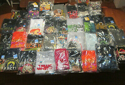 Funko Pop Tees T-Shirt Collection Jaws Bears Marvel Avengers Hulk It Alien ++++