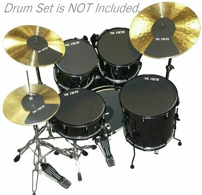 """Vic Firth MUTEPP6 Drum / Cymbal Mute Package - 10"""" 12"""" 14"""" 16"""" 22"""" Hi Hat + 2"""
