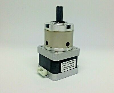 NEMA 17 Planetary Gearbox Stepper Motor 5.18:1 Reduction 1A for 3D Printer, CNC