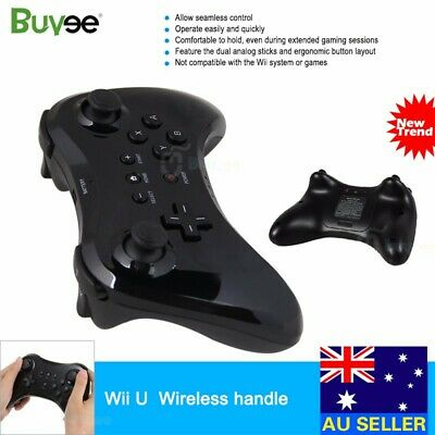 Wireless Bluetooth Remote Handle Pro Game Controller Gamepad for Nintendo Wii U