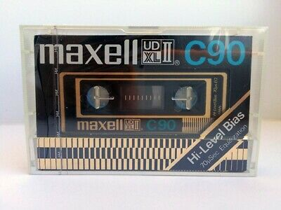 Maxell Ud Xl Ii C90 Blank Audio Cassette Tape New Rare 1977 Year Japan Made